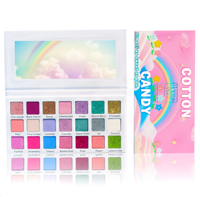 Cotton Candy Eyeshadow Palette by Bossy Girl