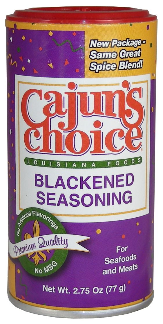 Cajuns Choice Blackened Seafood Seasoning