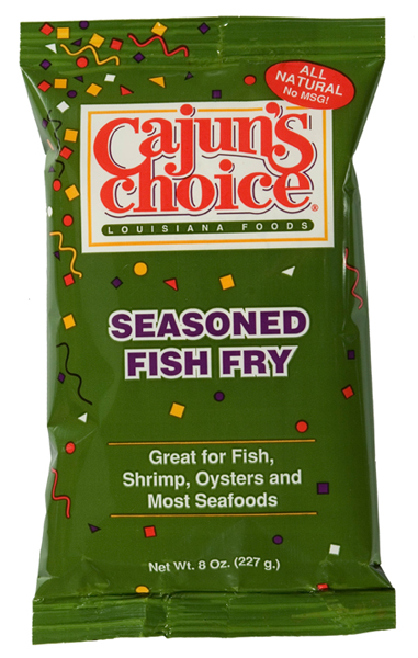 Cajuns Choice Seasoned Fish Fry