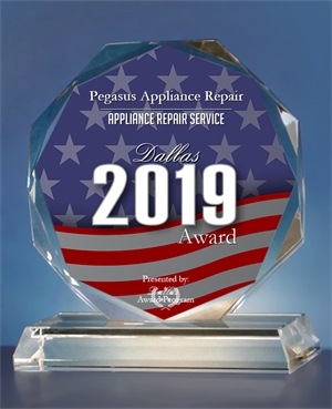 Dallas Business Recognition Award 2019, Pegasus Appliance Repair