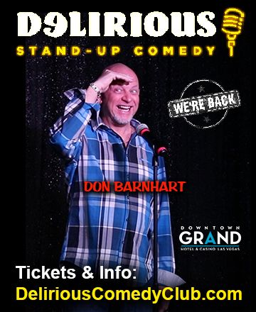 Don Barnhart Brings Laughter Back To Las Vegas