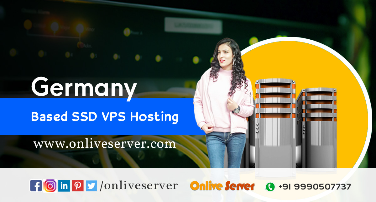 Germany Based SSD VPS Hosting