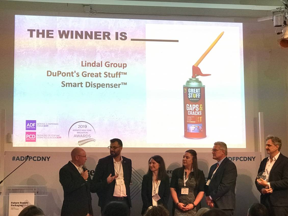Lindal and DuPont Win ADC Innovation Award