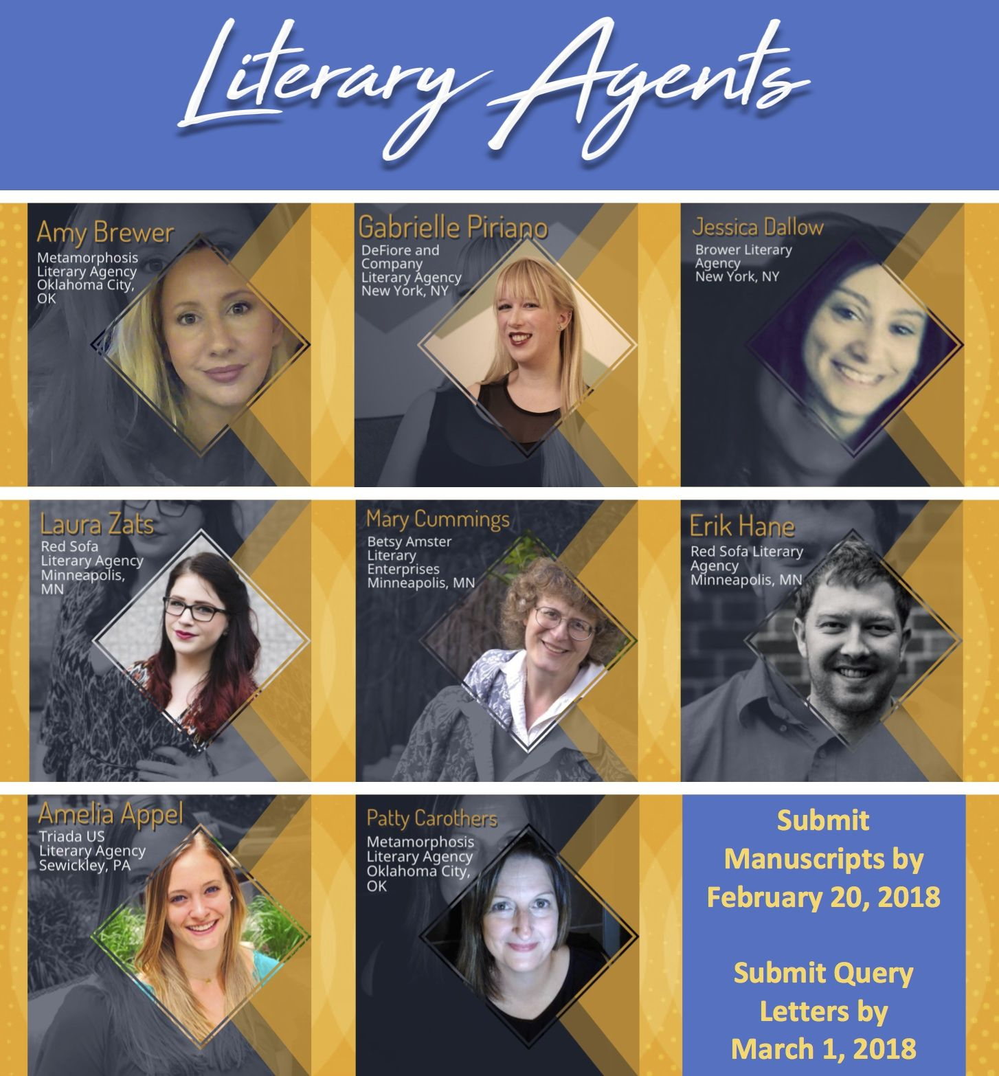 Literary Agent Announcement