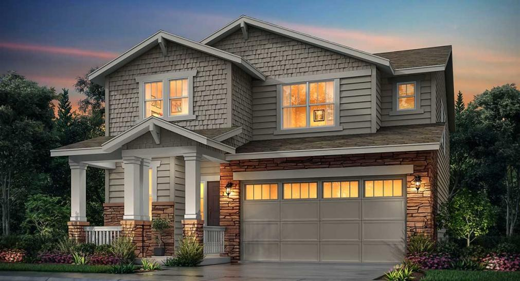 New homes in Aurora for sale boasting modern designs & near exciting recreation