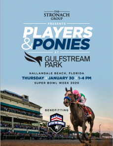 Players and Ponies at Gulfstream