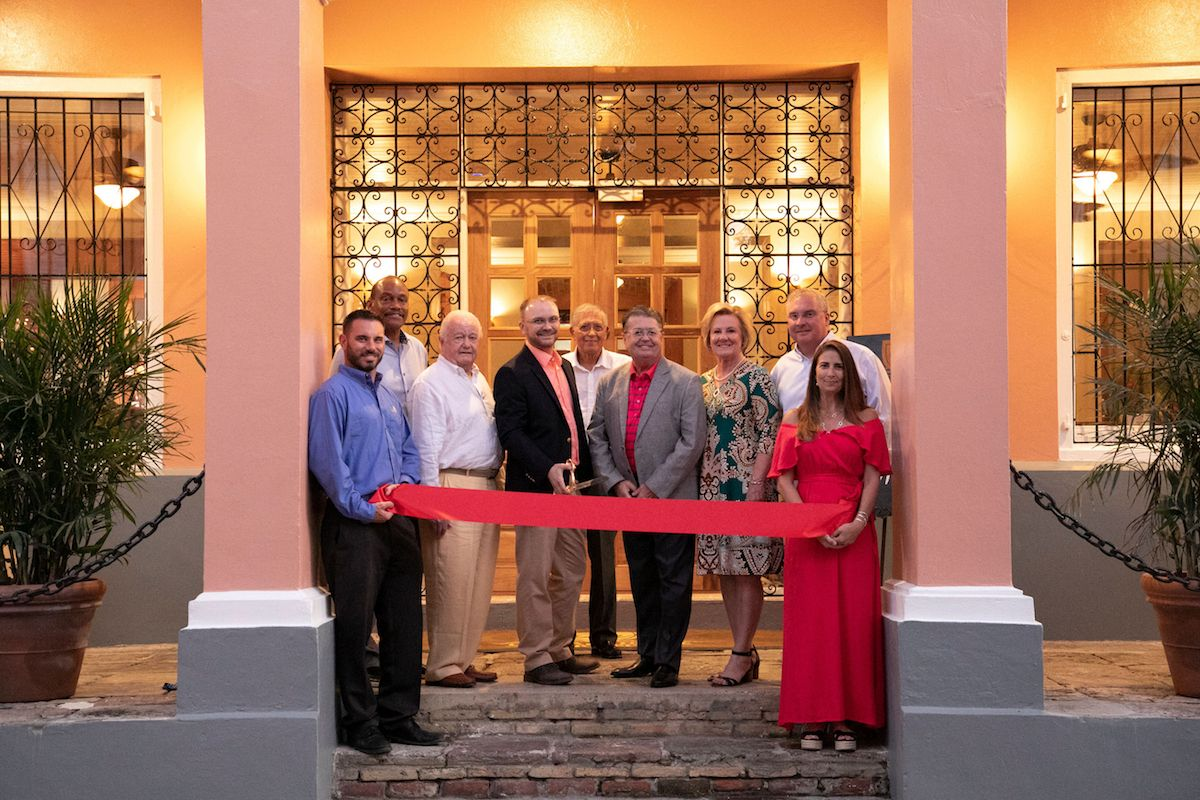 Ribbon Cutting at Company House Hotel photo by Kelly Greer