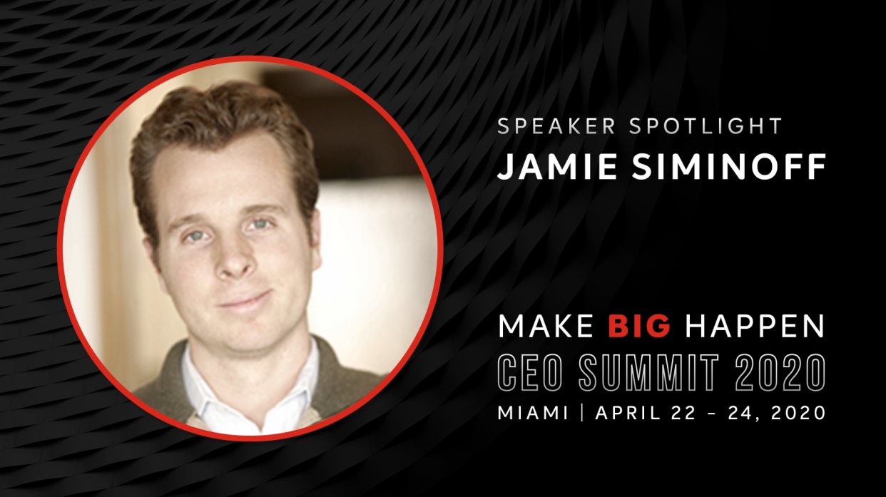 Ring Founder Jamie Siminoff to Keynote CEO Summit 2020 in Miami Beach