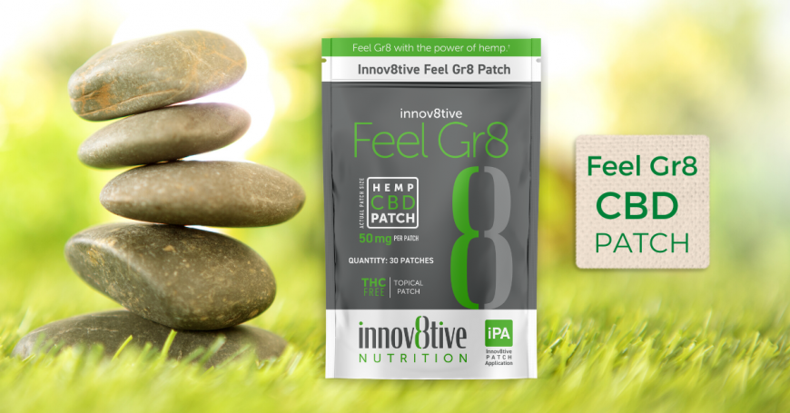 The Innov8tive Feel-Gr8 Patch with CBD