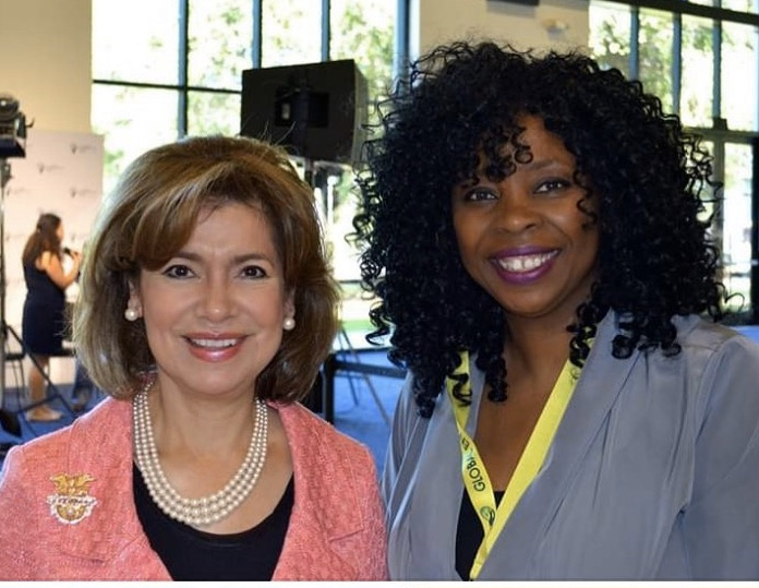 With Maria Contreras-Sweet, Former Head of SBA